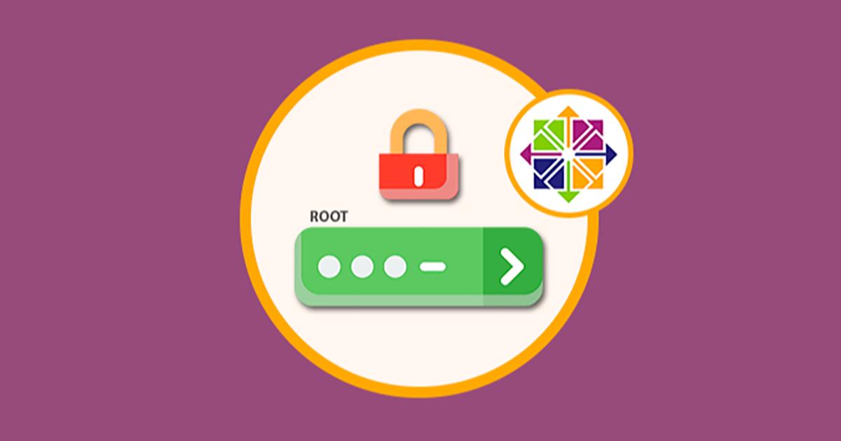 Hướng dẫn khôi phục mật khẩu quản trị (reset root password) trên máy chủ sử dụng hệ điều hành CentOS