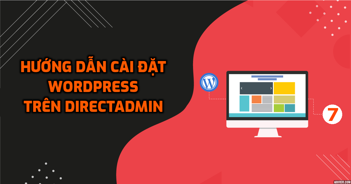 Hướng dẫn cài đặt WordPress trên DirectAdmin