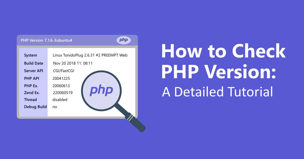 Hướng dẫn thay đổi PHP version trên hosting